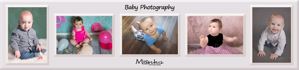 Baby photo sessions in Monka Photography's Studio in Athy, County Kildare